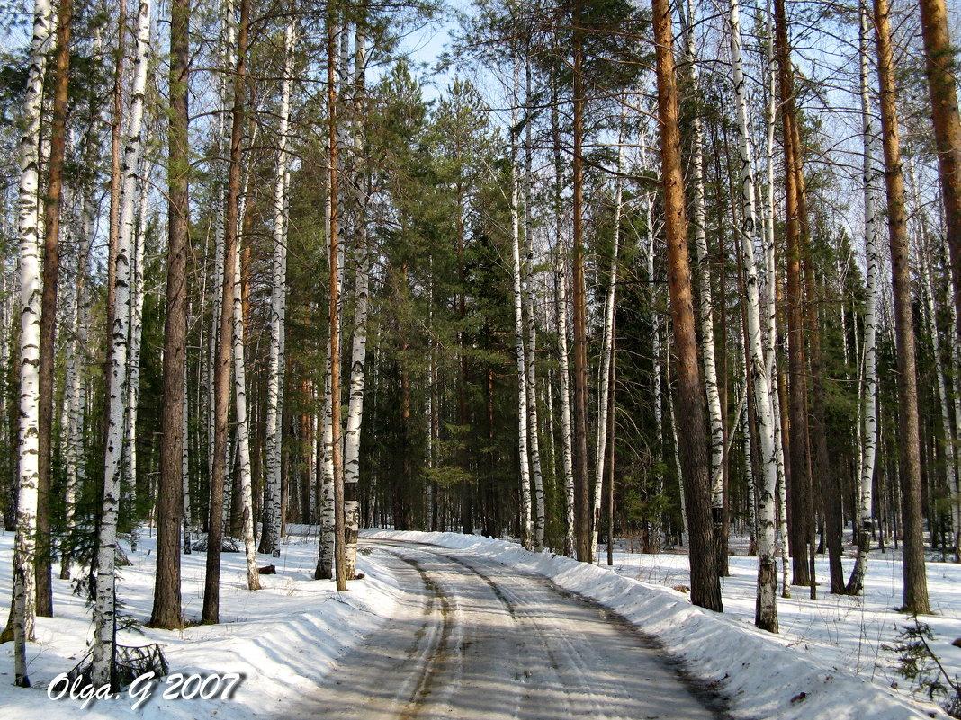Дорога в апрель - OLLES