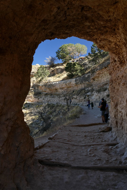 Идя по тропе древних индейцев... (Гранд-Каньон, Аризона, США - Юрий Поляков