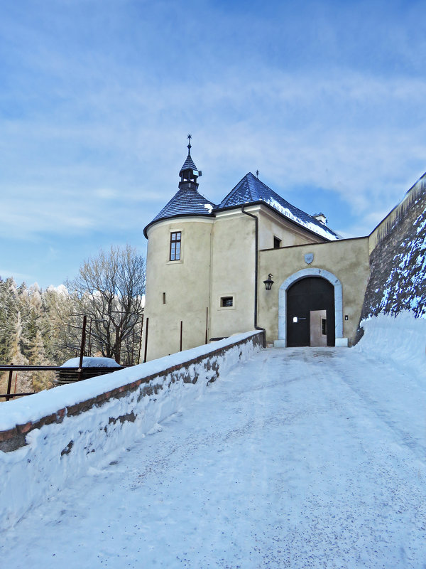 Вход в замок Штернберг. - ИРЭН@ .