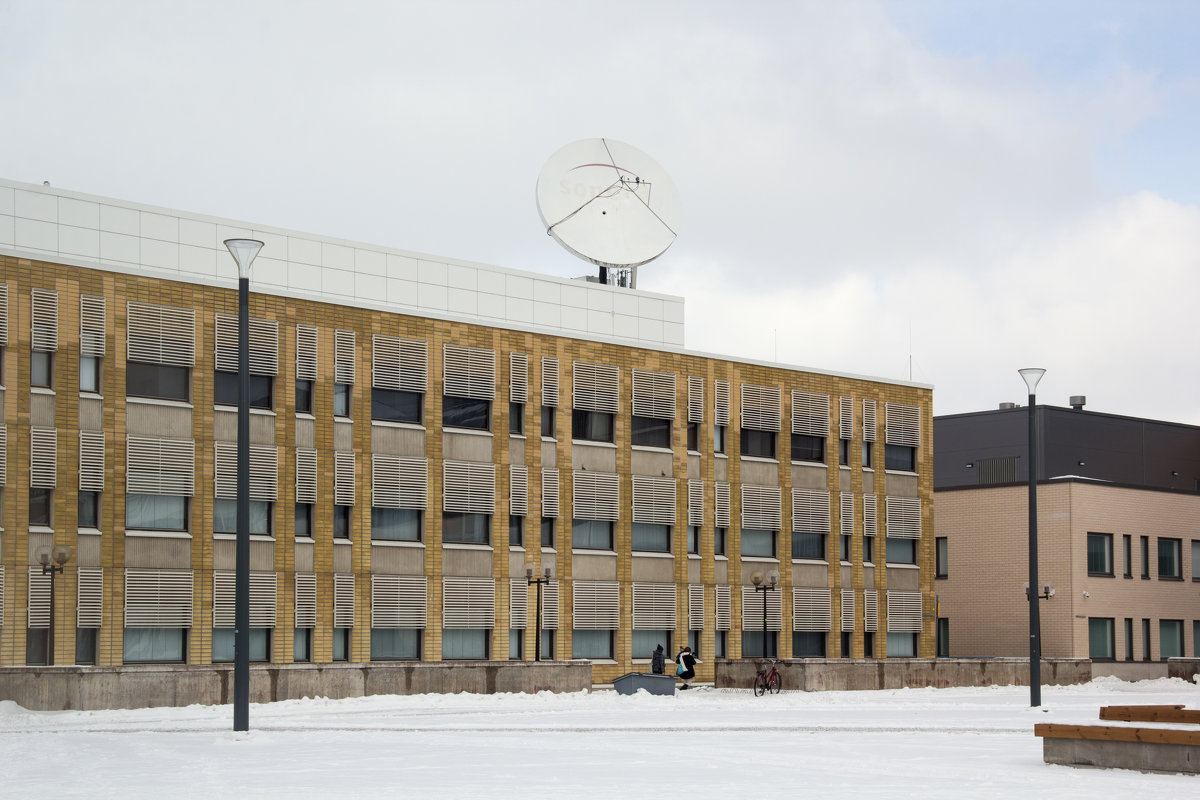 Здание с антенной - Aнна Зарубина
