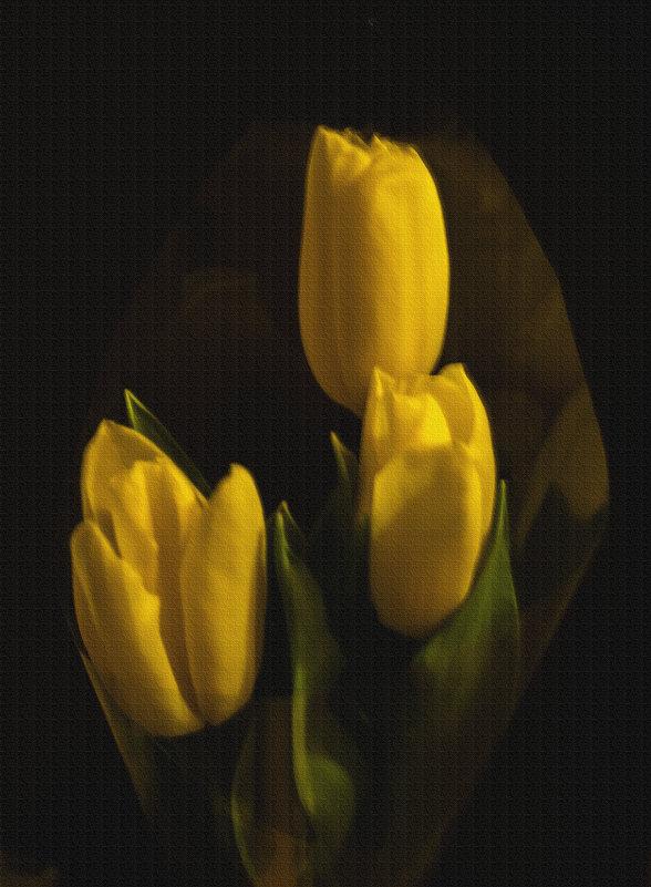 Желтые тюльпаны на 8 марта - Алена Малыгина
