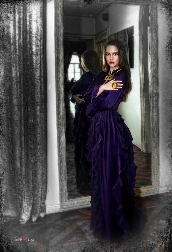 Бальзаковская Дама на моей фотовыставке - Борис Соловьев