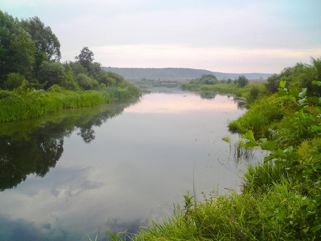 Река Воронеж в районе села Кривец - kondratissimo