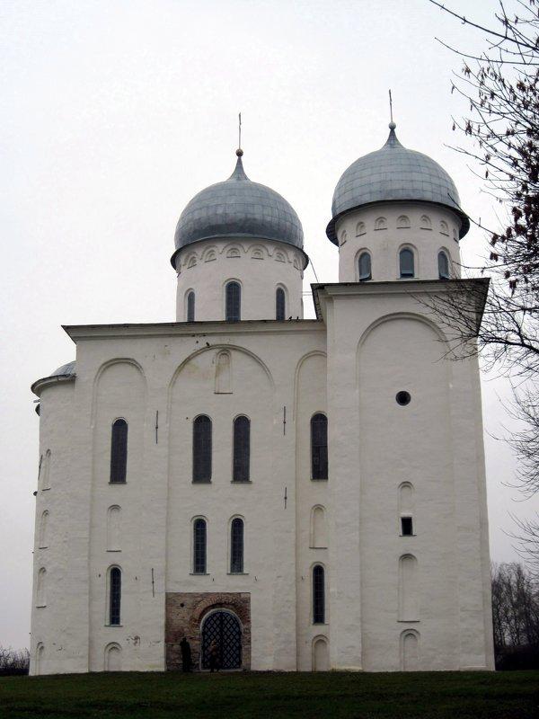 Георгиевский собор в Свято-Юрьев монастыре. Новгород. - Ирина ***