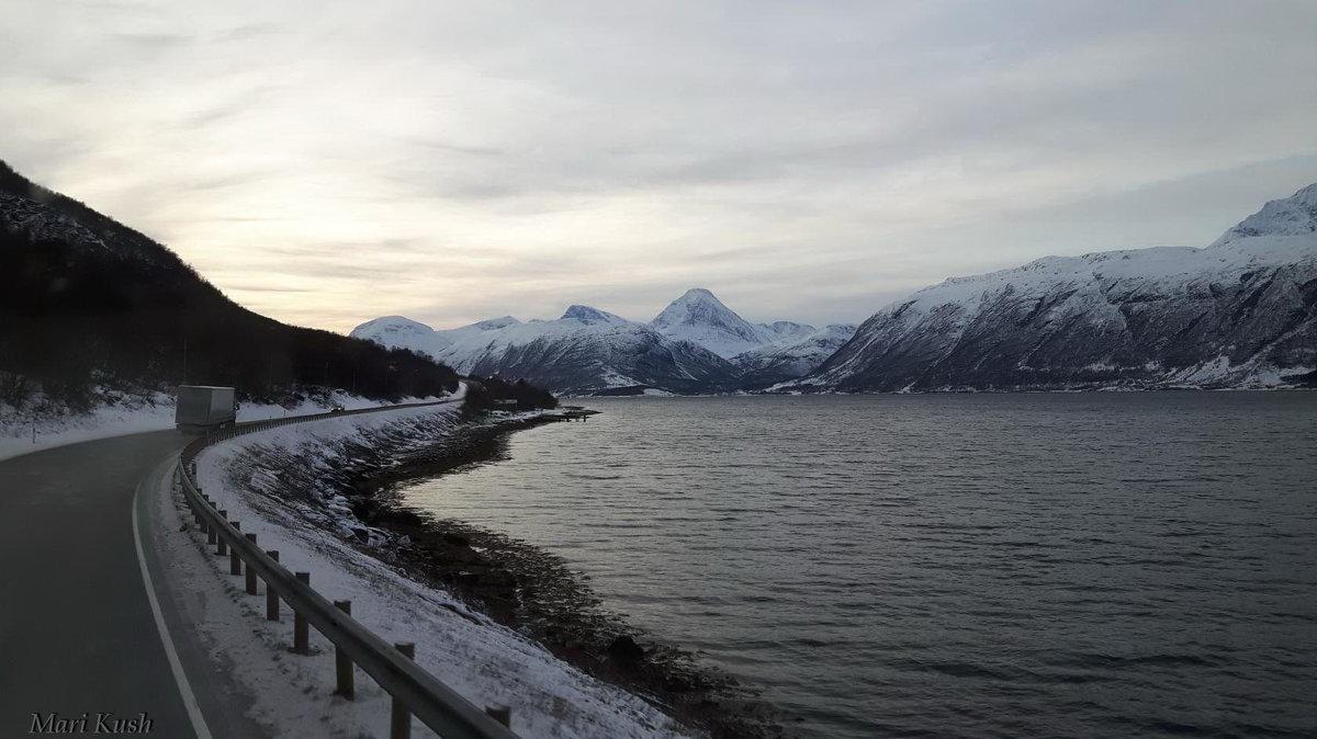 Норвегия...Дороги..дороги.. - Mari Kush