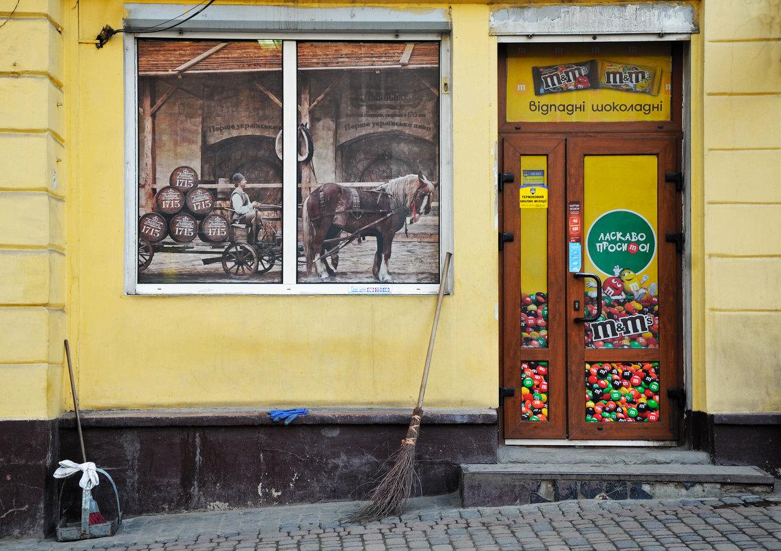 Фасад магазина XXI века - Олег Нигматуллин