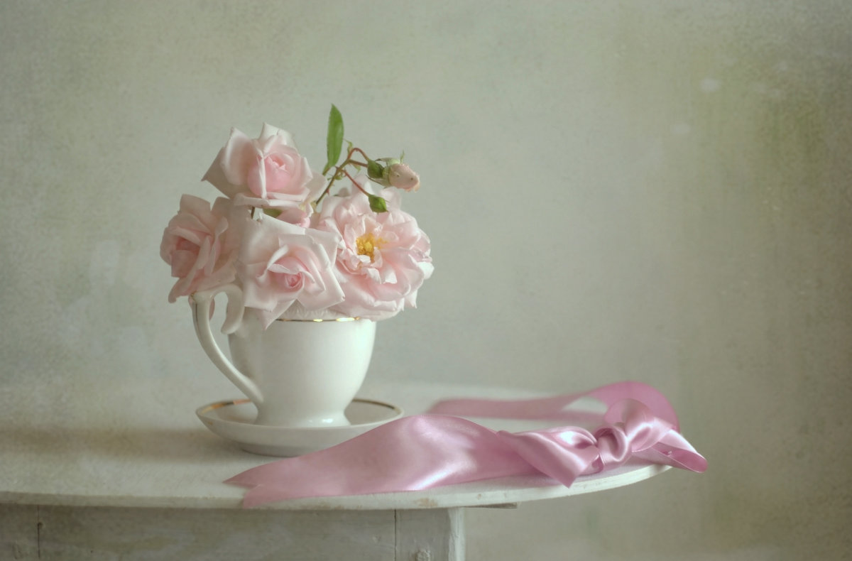 Нежность розовых роз - * ИпомеЛи *