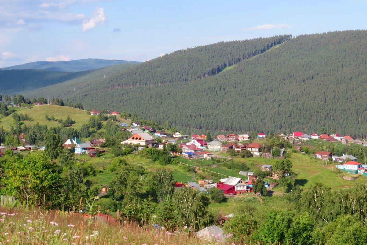 Окраина Белорецка - Вера Щукина