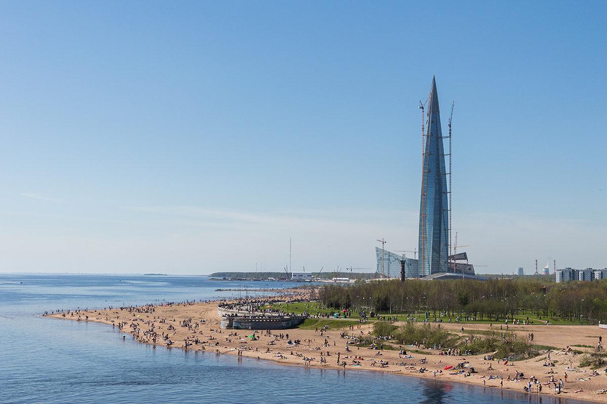 Питерский пляж весной - VL