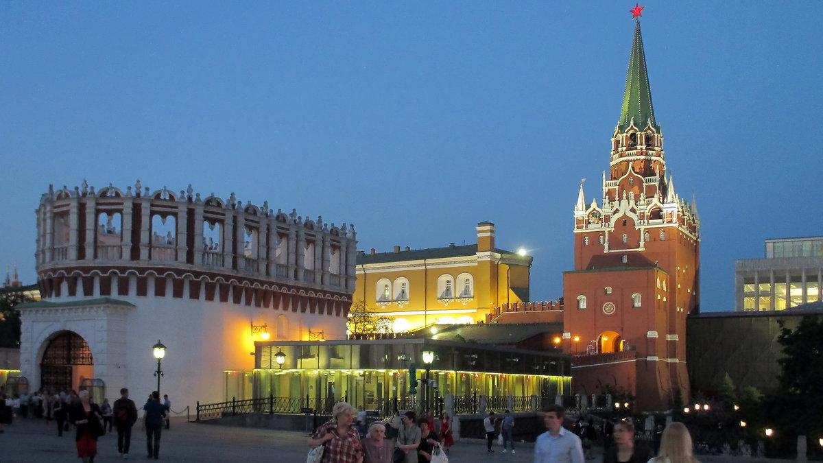 Москва. Кремль - Алла Захарова