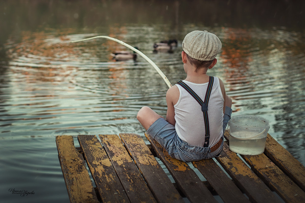 Один день из жизни Рыбака **** - Irina Zvereva