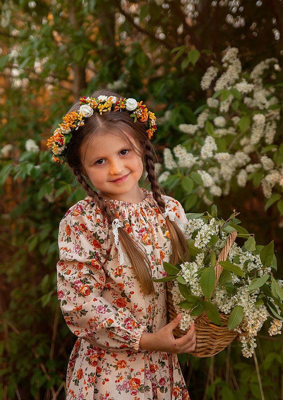 Девочка с открытки - Каролина Савельева
