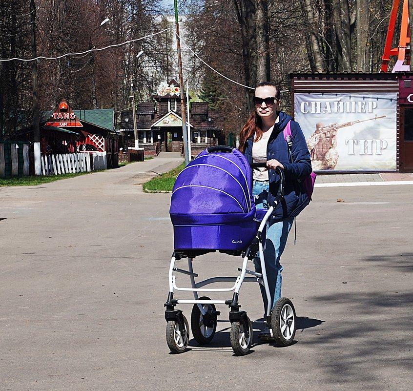 Прогулка в парке - Лариса