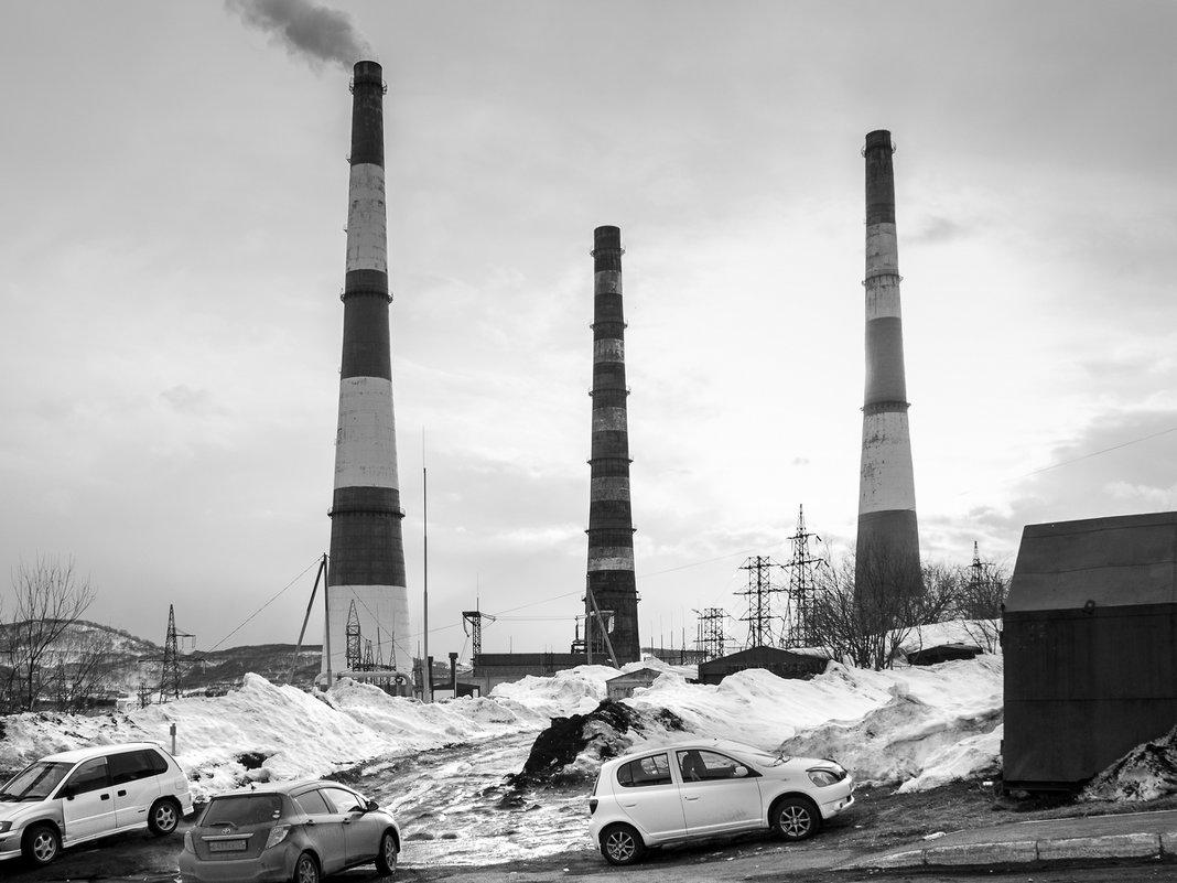 Индустриальный пейзаж - Елена Кириллова