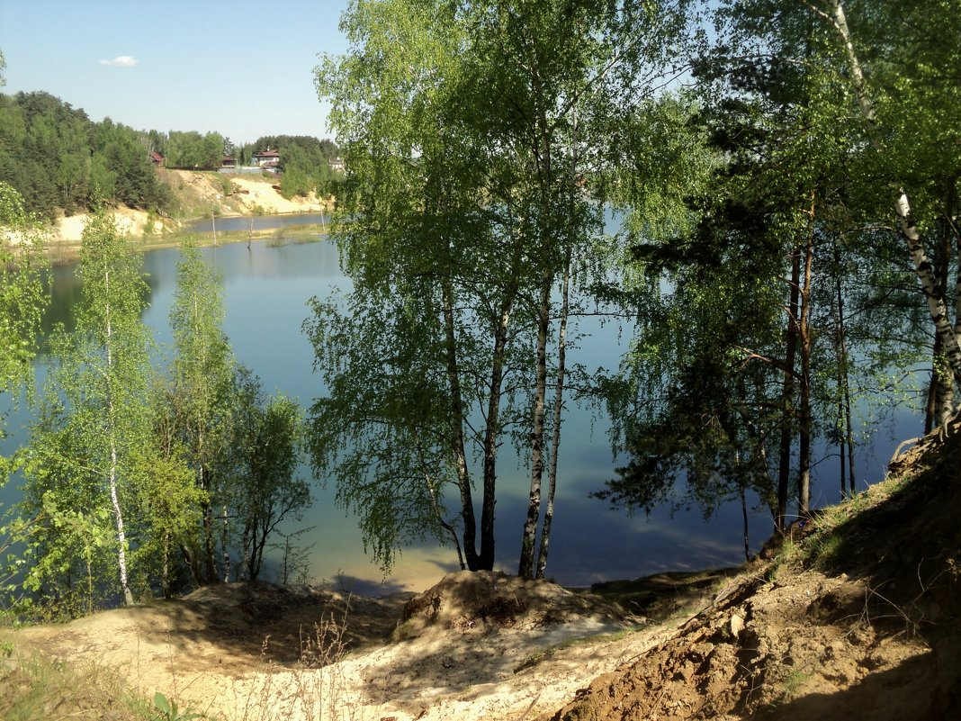 Невероятная красота озера Рицы в Подмосковье и так заброшен этот удивительный райский уголок природы - Ольга Кривых