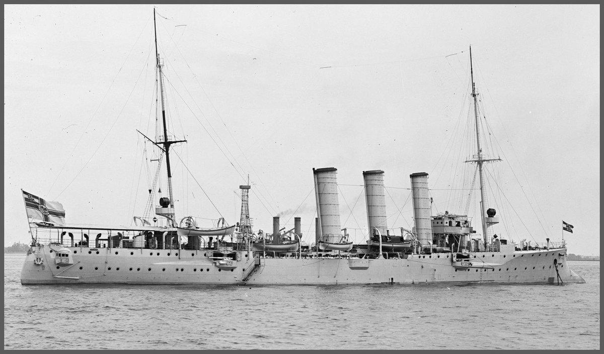 "German light cruiser "".SMS Bremen"". - Александр"