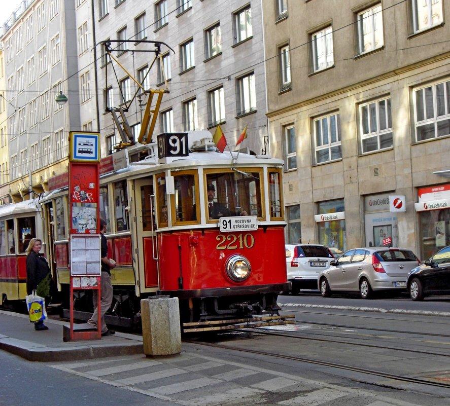 «Ностальгический трамвай» - ирина