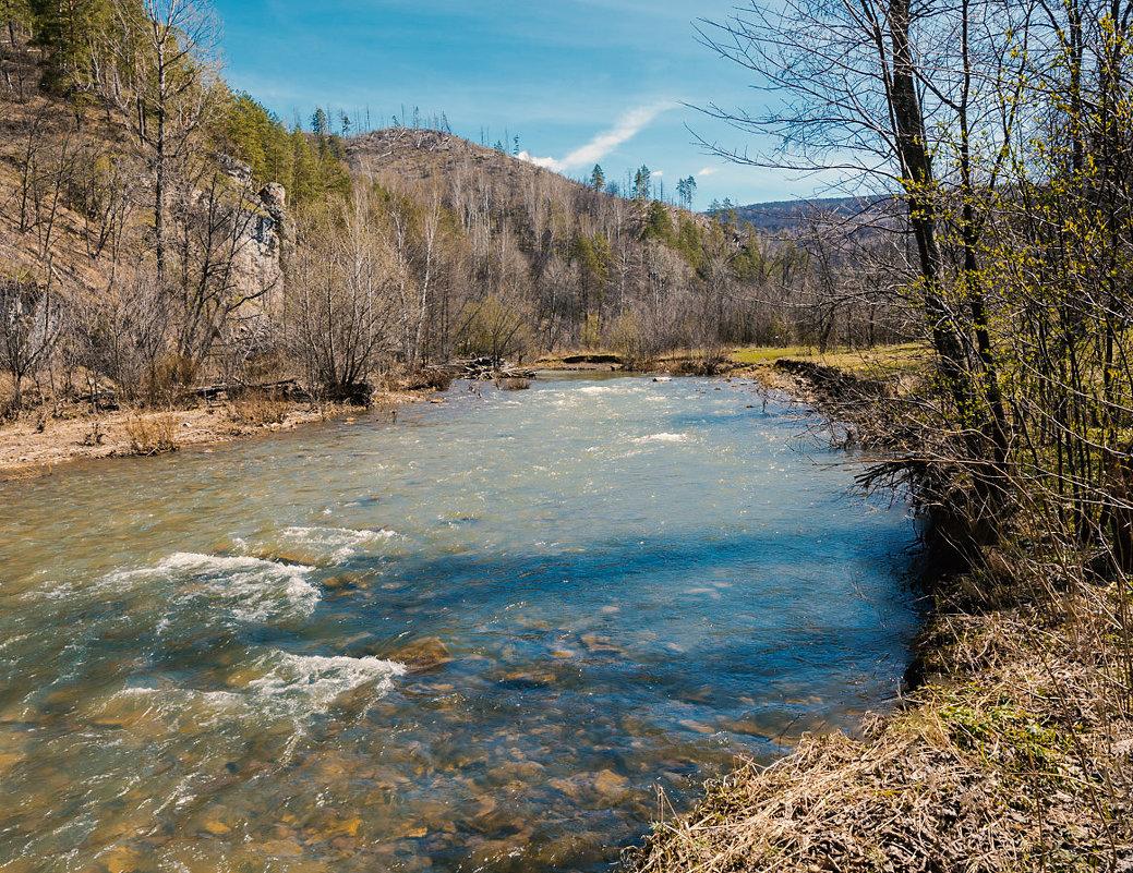 Каменистая река - Любовь Потеряхина