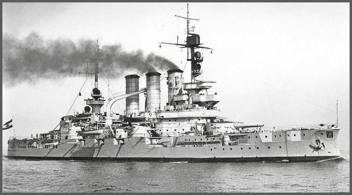 "German battleship ""SMS Hessen"". - Александр"