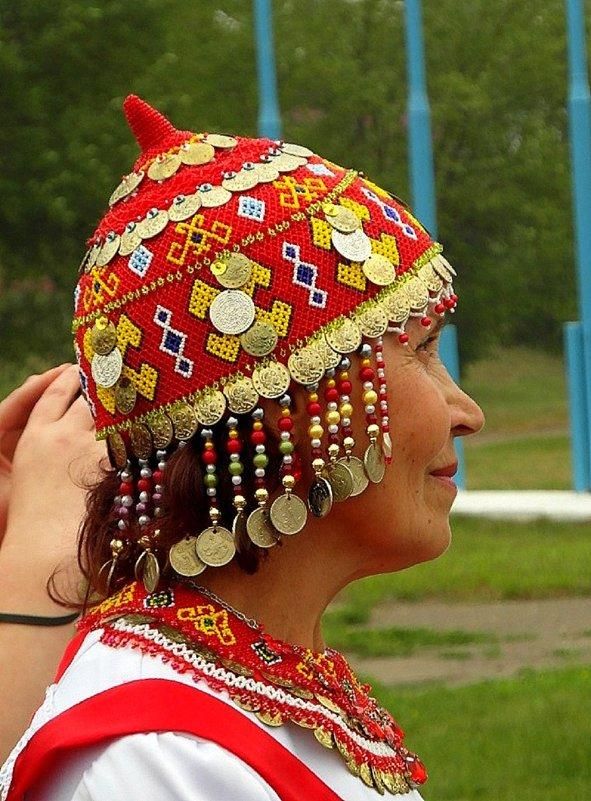 Чувашская шапочка-тухья. - nadyasilyuk Вознюк