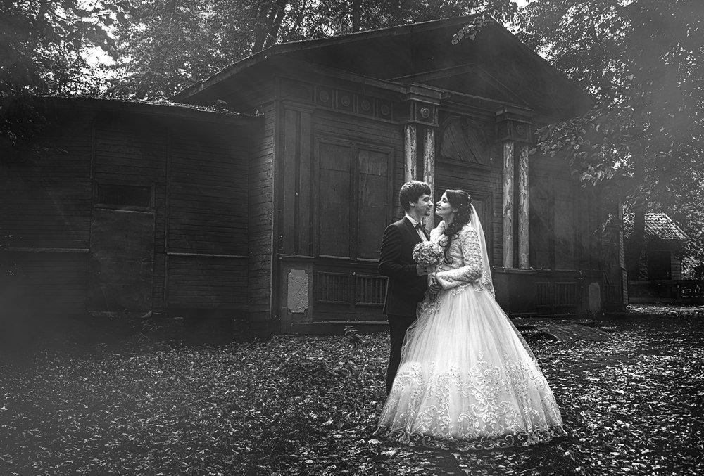 Свадебное фото в стиле ретро - Александр