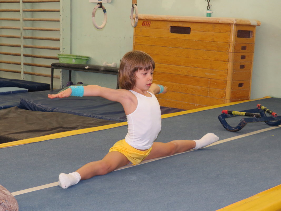 Юный гимнаст - Андрей