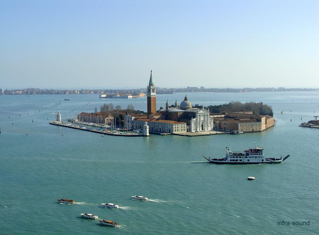 Венеция, остров Сан Джорджо - Маджоре - Lüdmila Bosova (infra-sound)