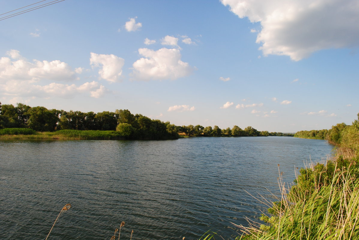 река Сухая. - Виктор