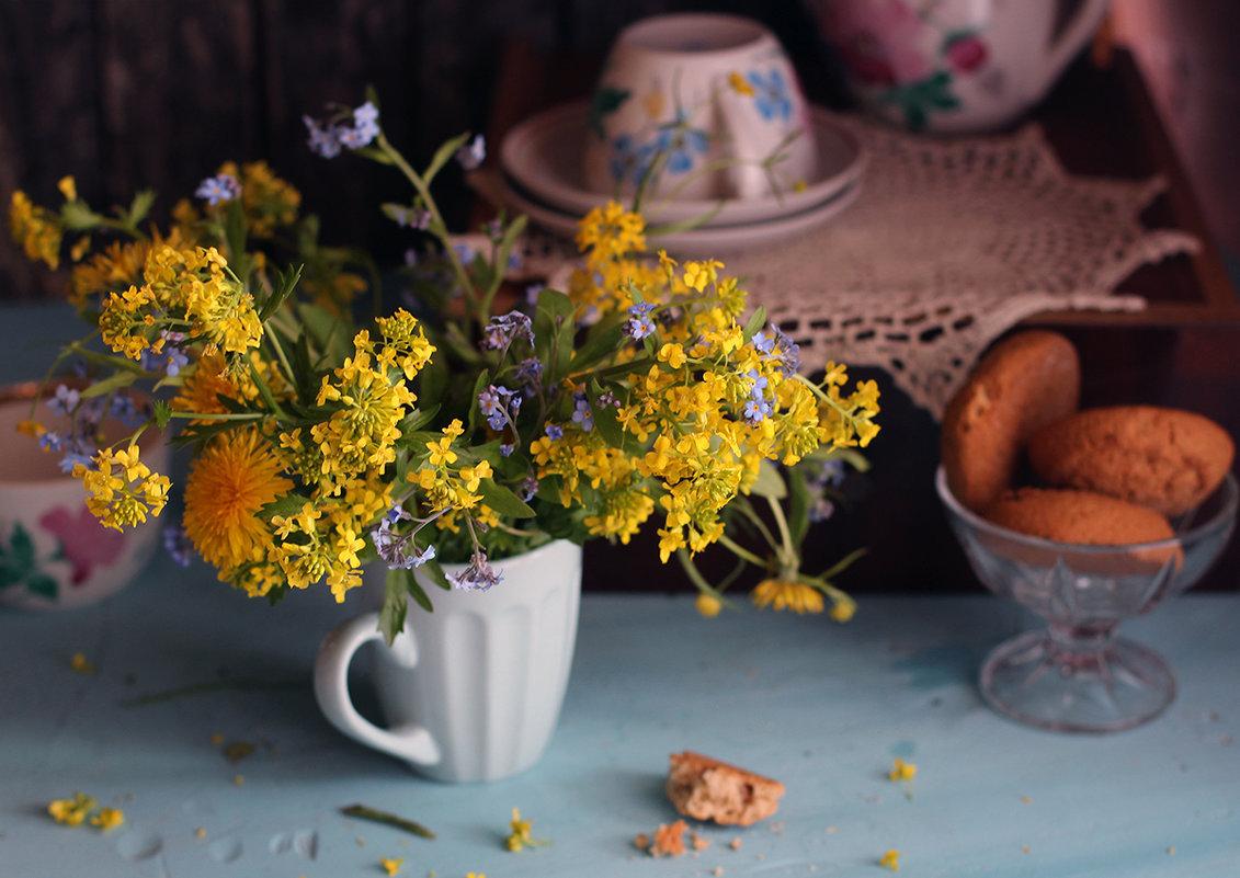 Желтых цветов букет... (2) - Liliya