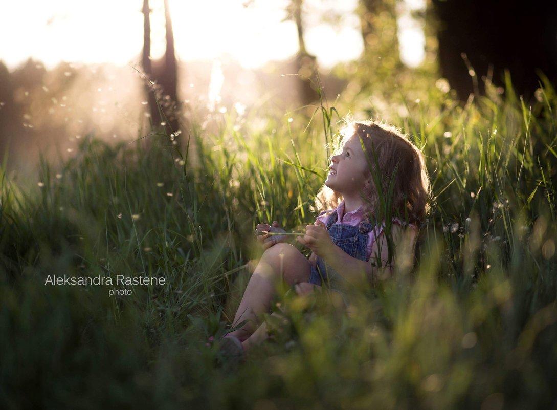Вечер с одуванчиками - Aleksandra Rastene