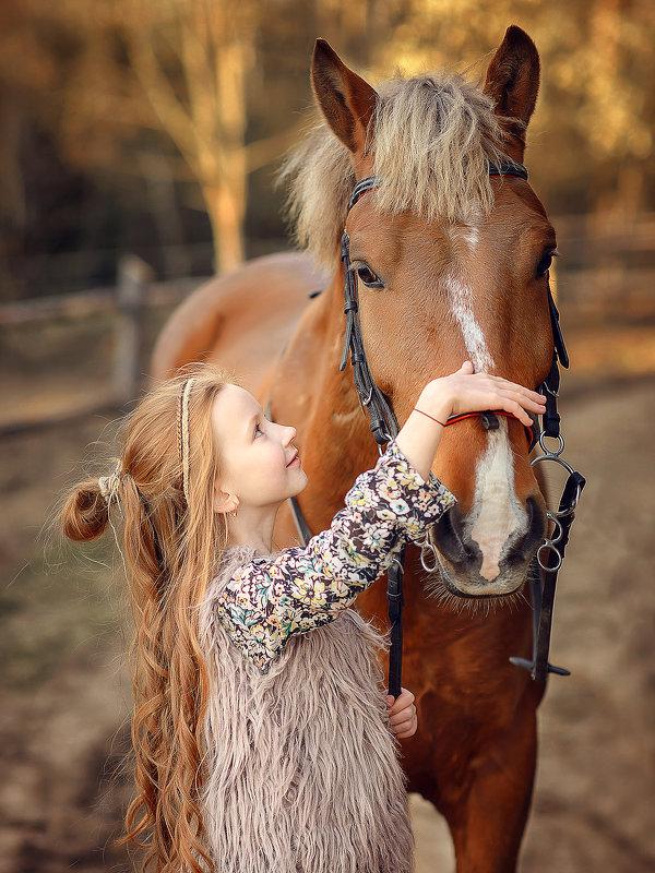 Девочка с Лошадкой - Виктория Дубровская