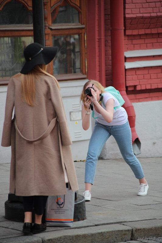 Фотограф щелкает, и  птичка вылетает - Анатолий Шулков