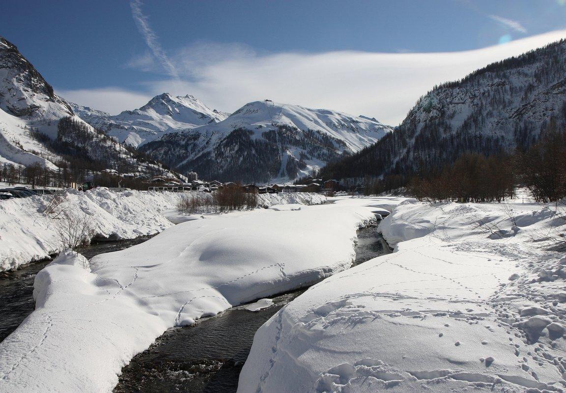 Река Изер, Альпы - ZNatasha -