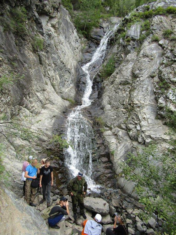 У водопада - Galaelina ***