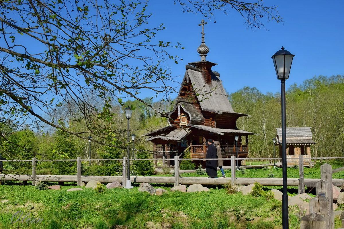 Деревянная церковь в Святогорье - Olcen Len