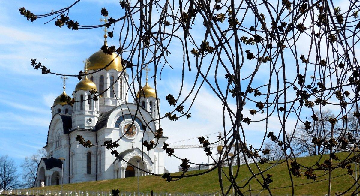 Самара.Храм  Святого Георгия Победоносца - Надежда