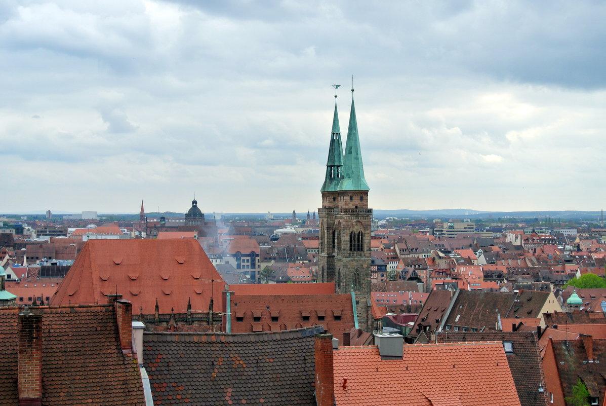 Крыши Нюрнберга... - Любовь С.