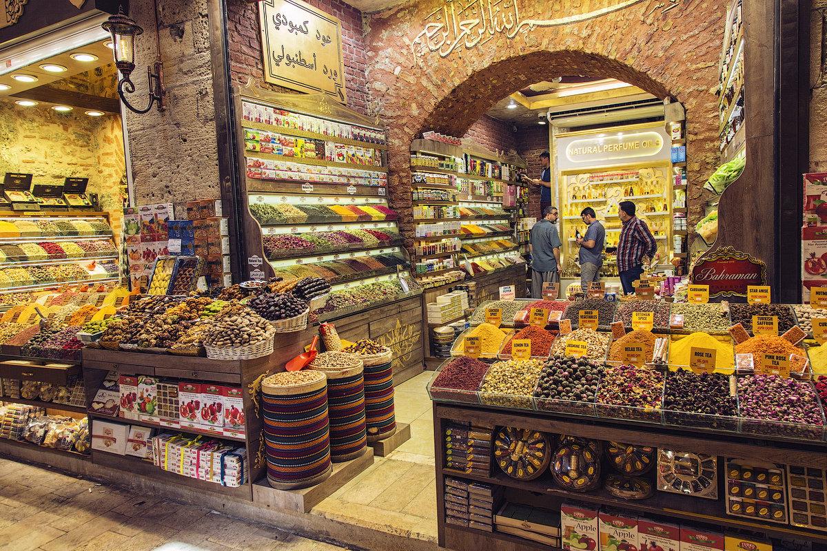 Египетский базар специй в Стамбуле - Ирина Лепнёва