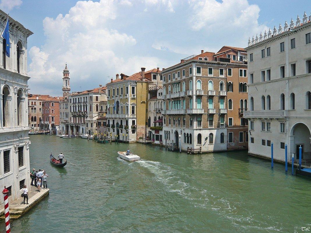 Гранд-канал с моста Риальто. Венеция - Татьяна Ларионова