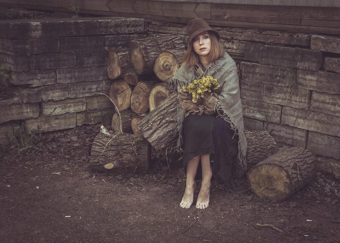 Мария в образе нищенки - Алексей Корнеев