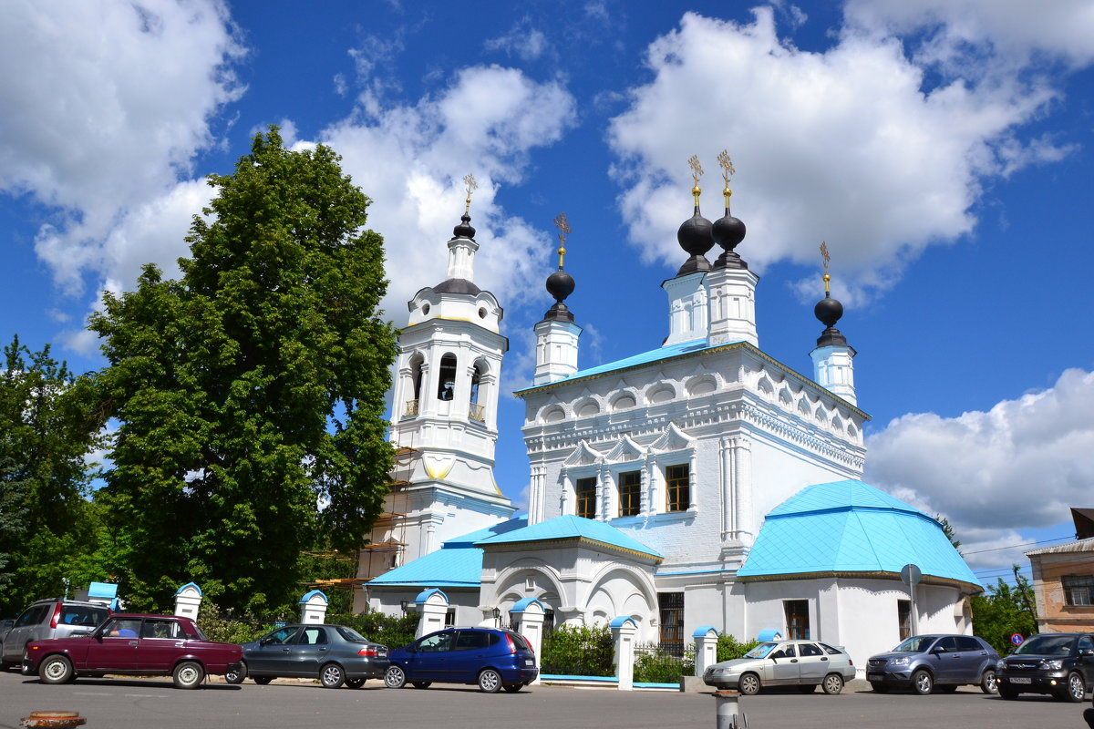 Покровская церковь в Калуге. - Лариса Вишневская