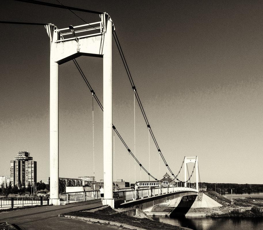Парковый мост. Йошкар-Ола. Ч/Б - Андрей Гриничев