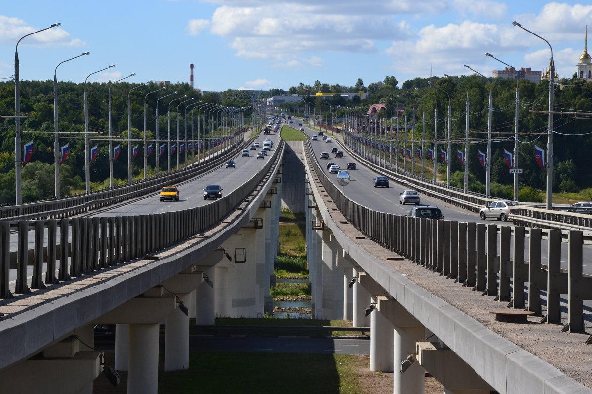 Мостт через р. Оку - Лариса Вишневская
