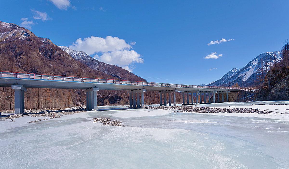 Мост через Белый Иркут - Анатолий Иргл
