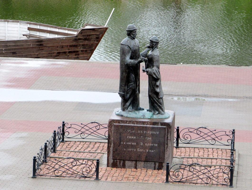Святые Пётр и Феврония на набережной Цны в Тамбове - Антонина Балабанова