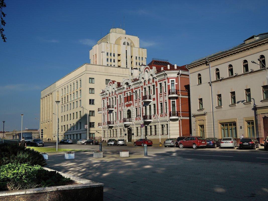 Минск. Улица Советская - Александр Сапунов