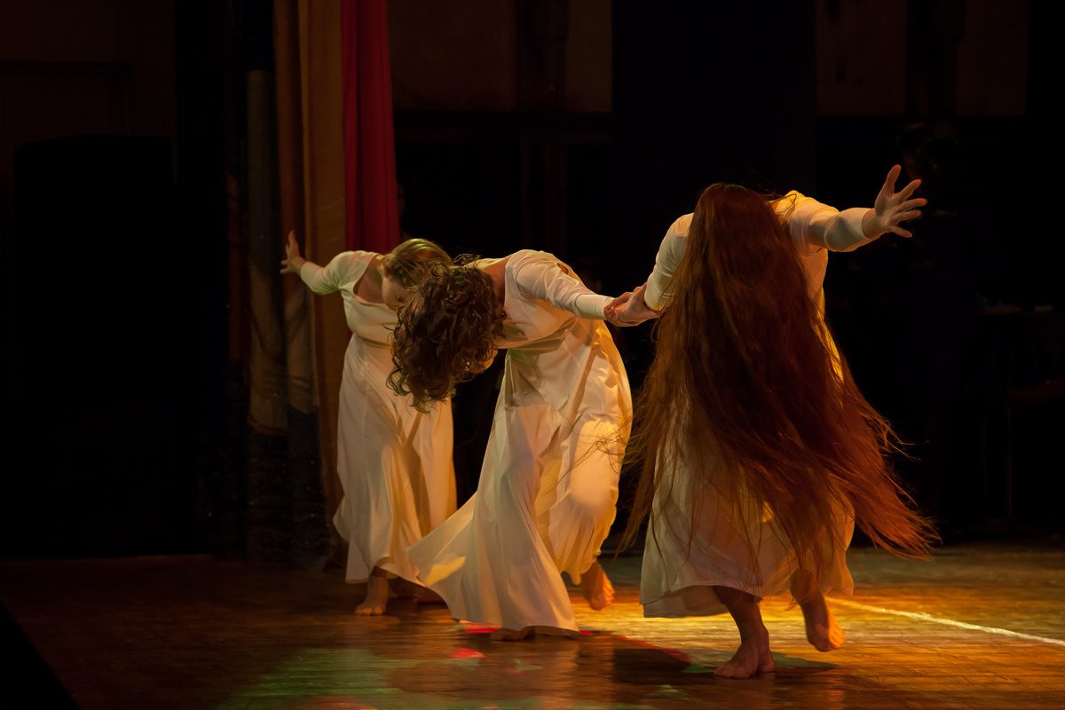 Танец. - Ольга