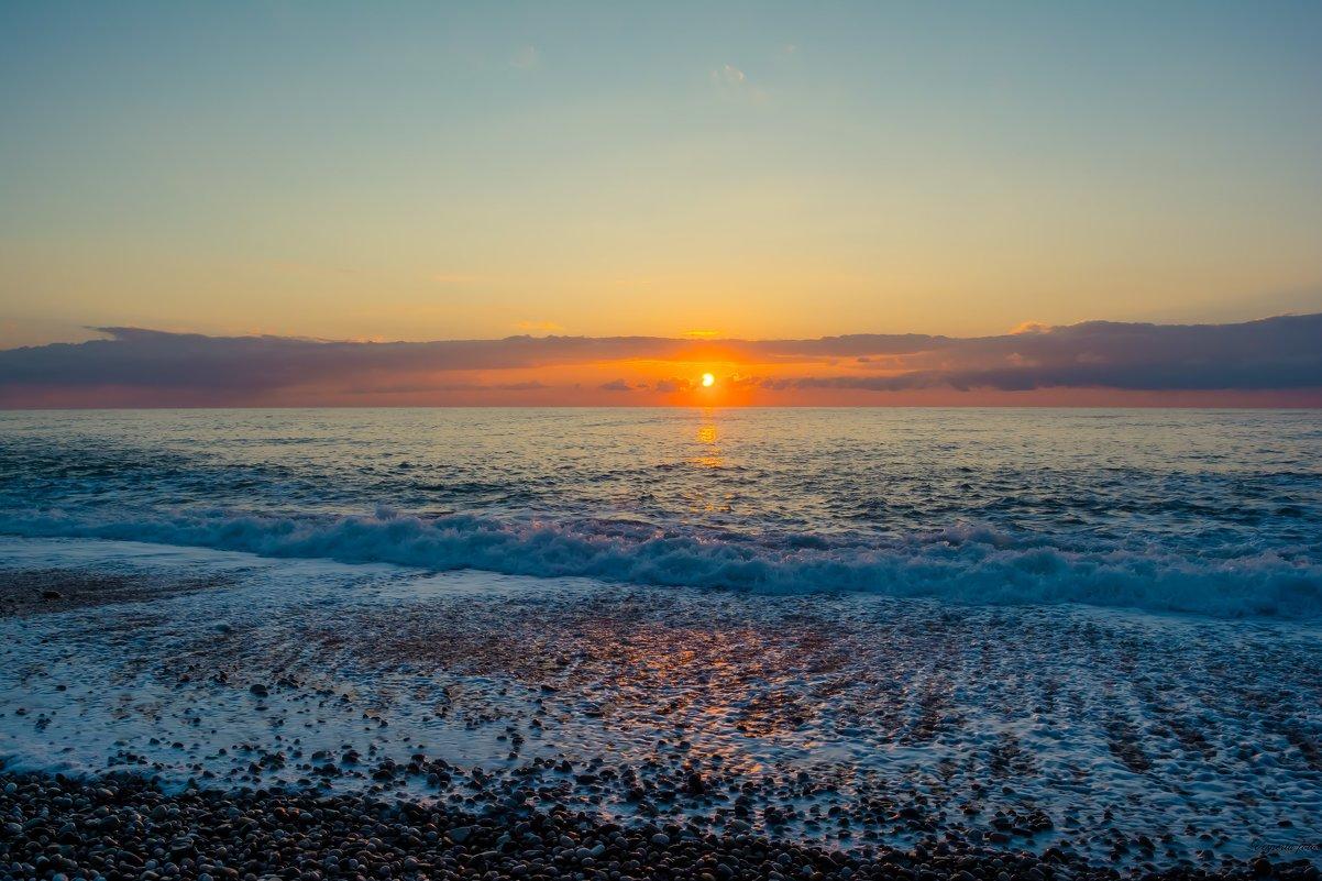 как выглядит море абхазия