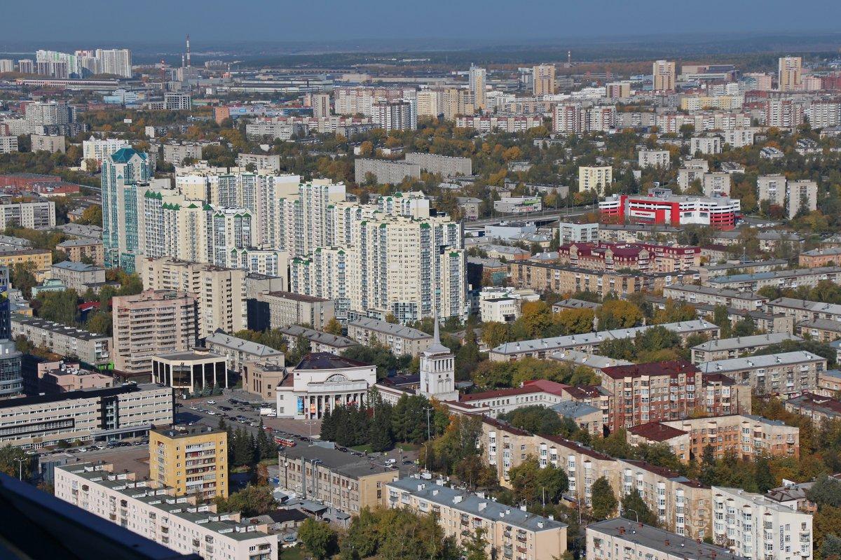 Город с высоты - Елена Викторова