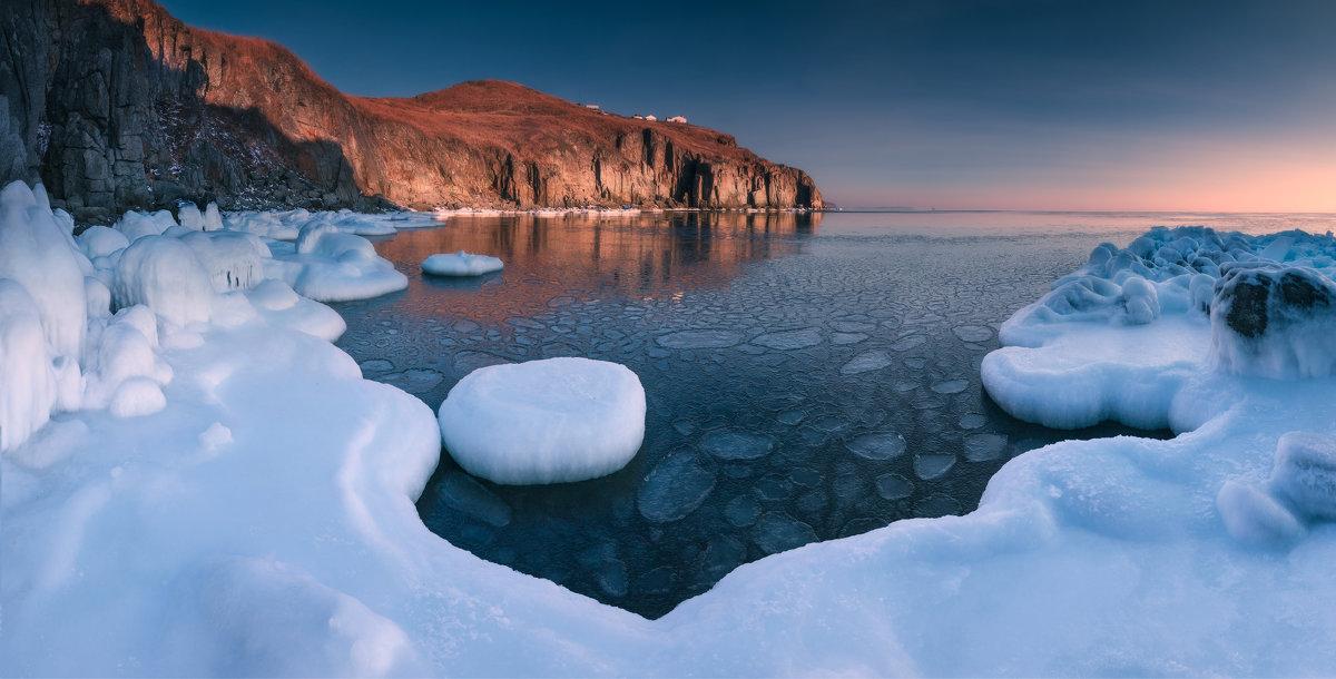 Причуды зимнего моря. - Андрей Кровлин